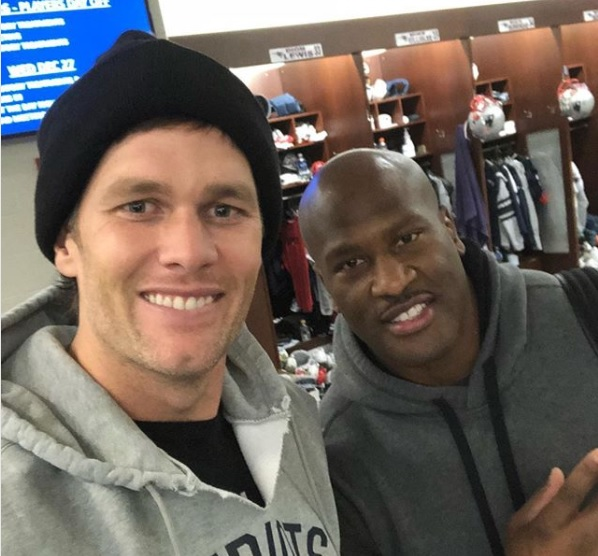 James Harrison Tom Brady IG